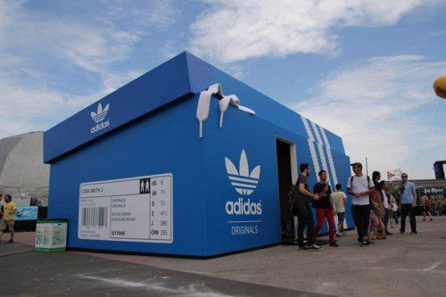 adidas guerrilla marketing campaign experiential marketing visualfizz