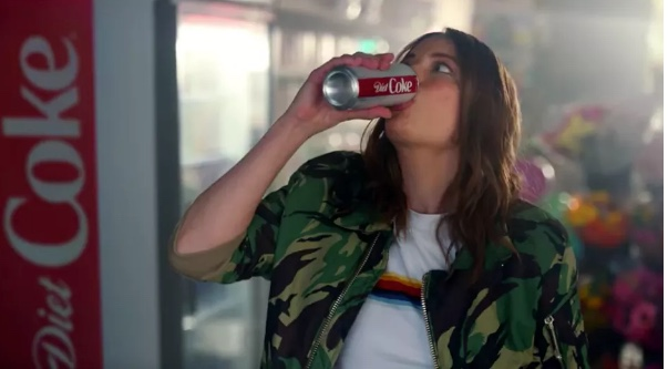gillian jacobs bad coke ad of 2018